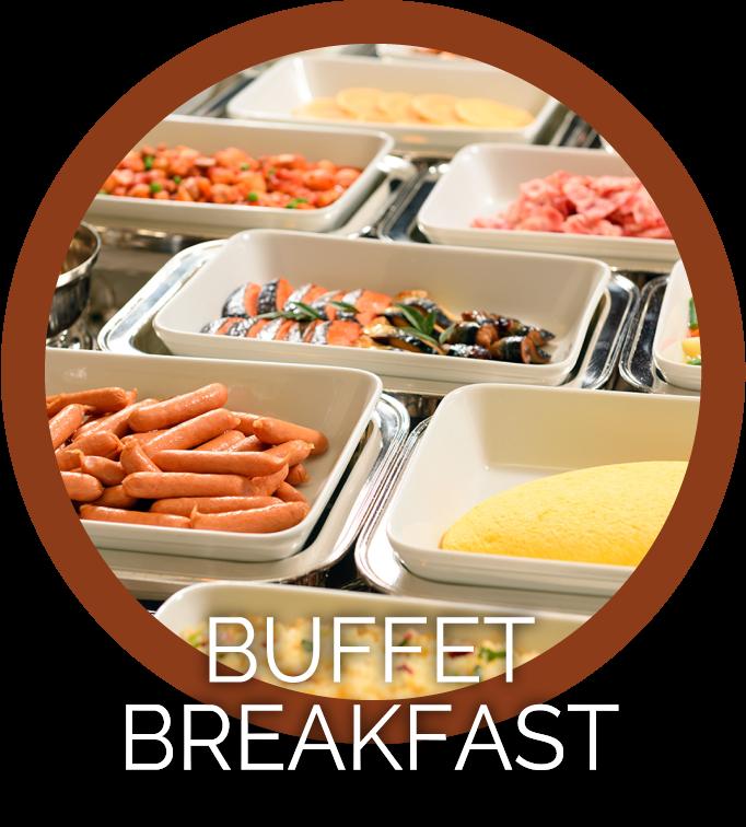 日替わりバイキング朝食