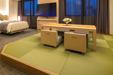 リニューアル和洋室/ホテルで最も広い特別室です。