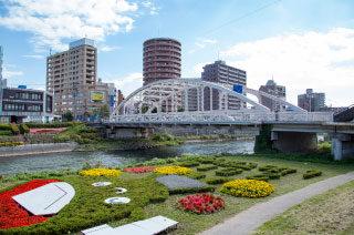 開運橋/北上川